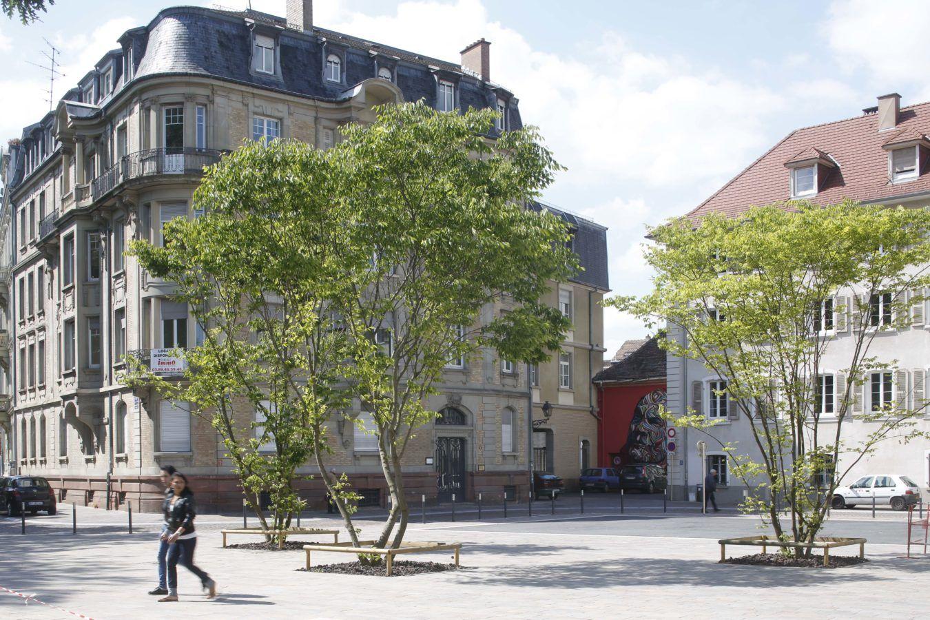 Place Guillaume Tell et Passage du théâtre - Mutabilis