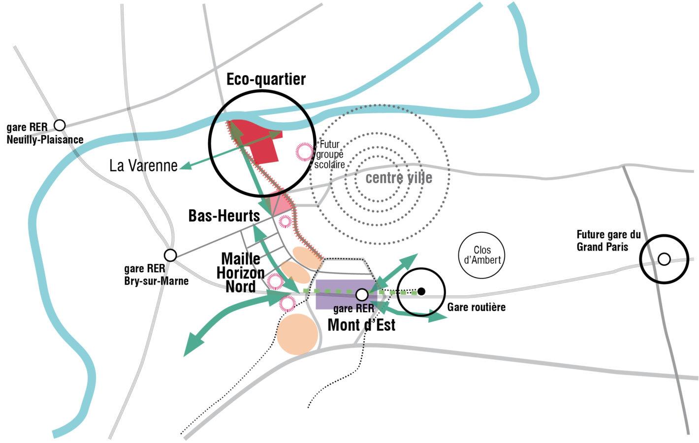 Ecoquartier île de la Marne - Mutabilis