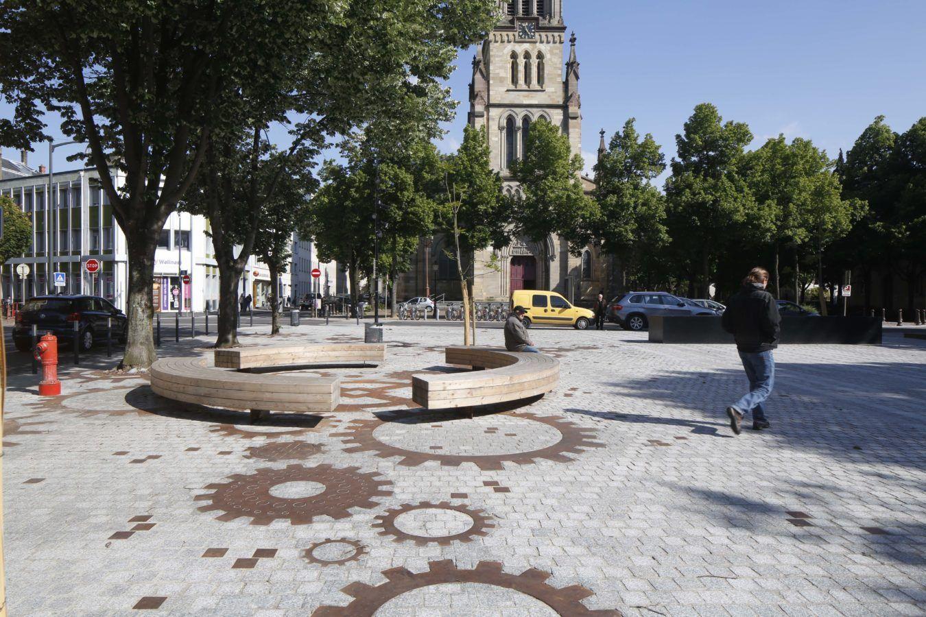Place de la Paix - Mutabilis