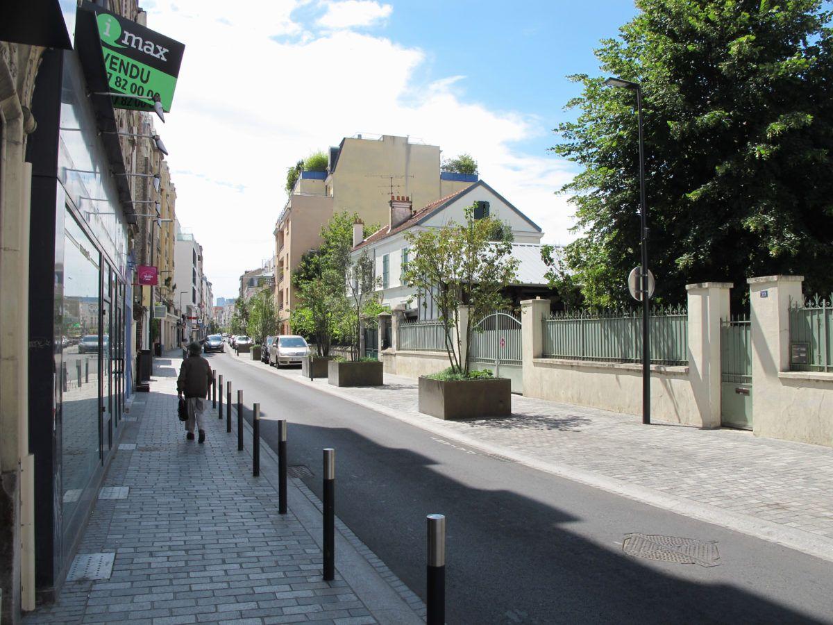 La rue des Bourguignons - Mutabilis