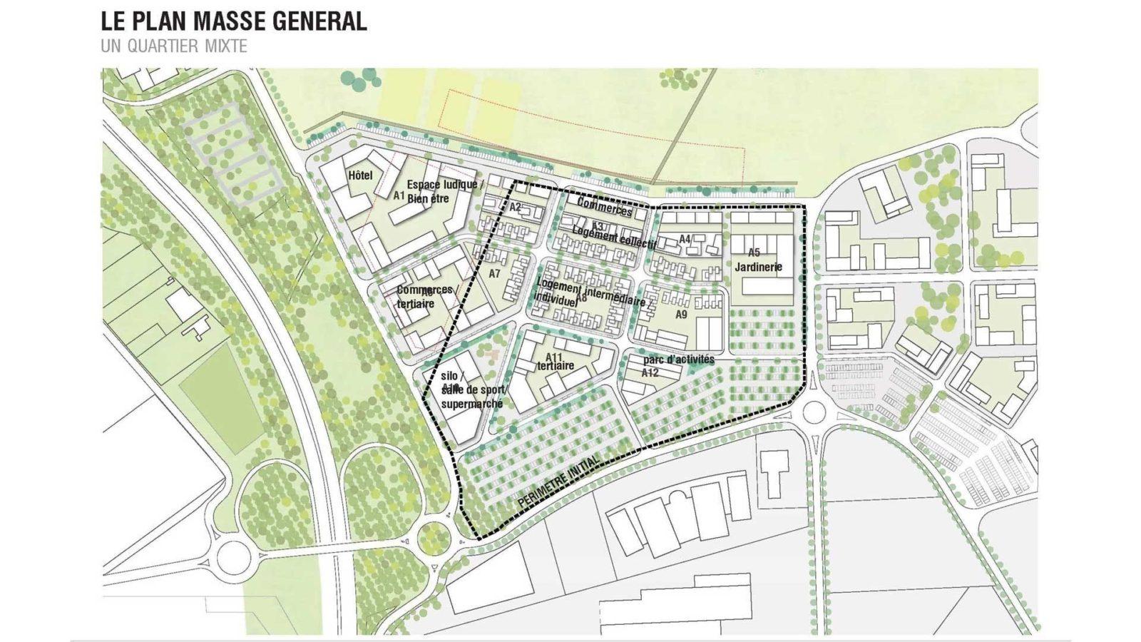 Etude Urbaine de la ZAC Garonne - Mutabilis