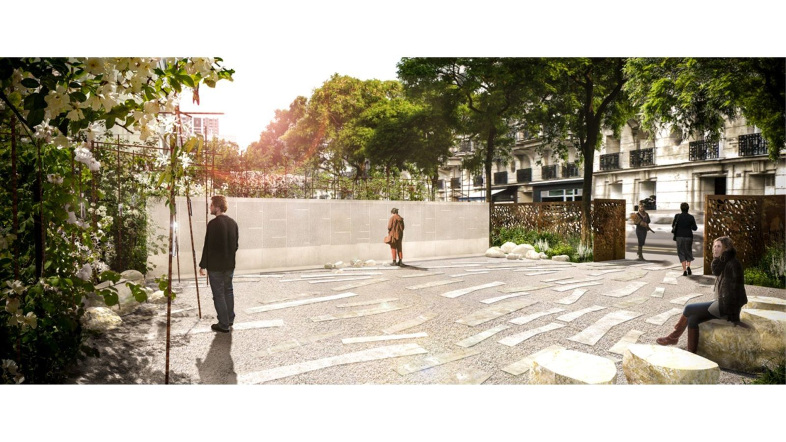PARIS – Jardin du Vel d'Hiv - Mutabilis