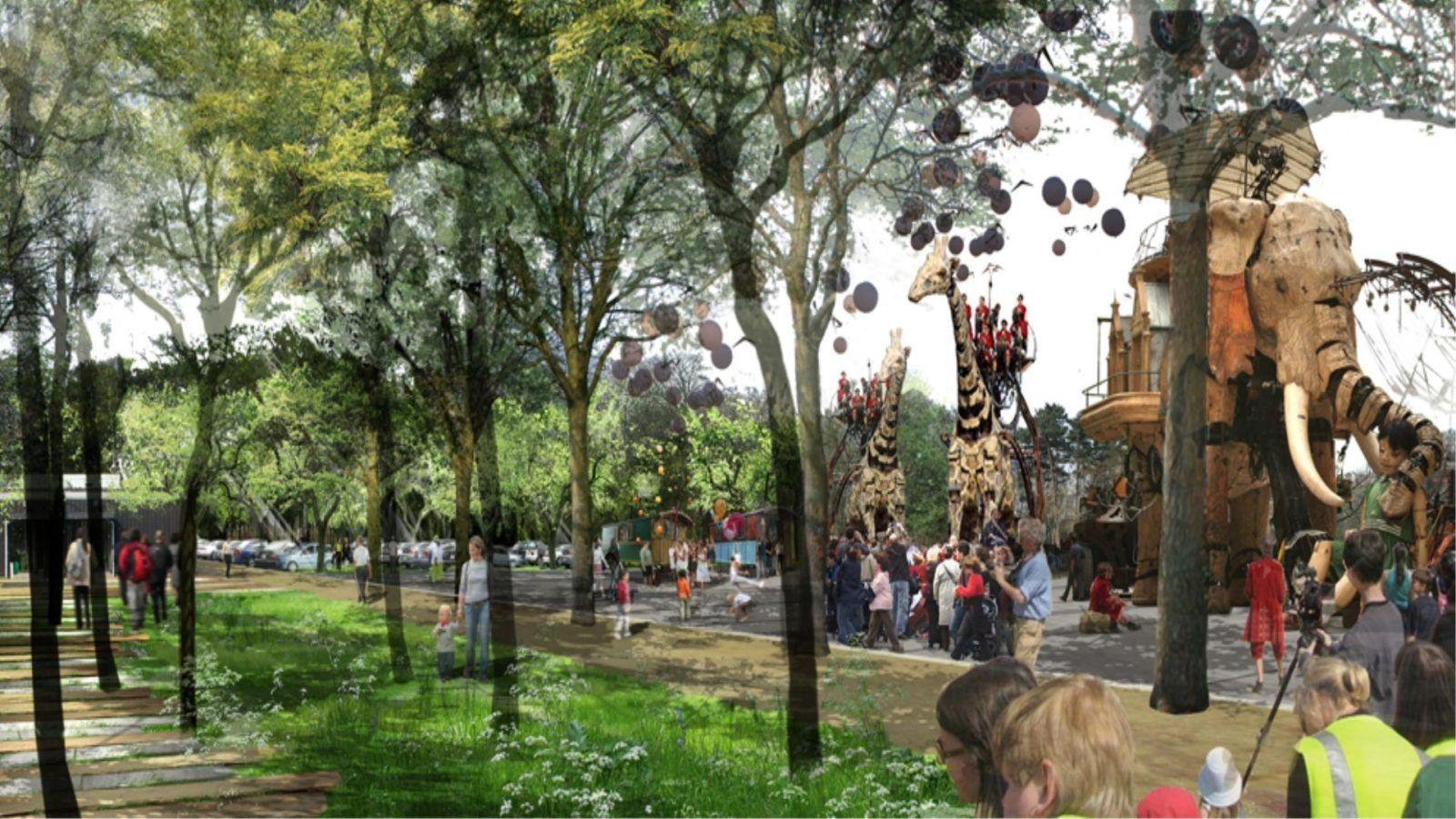 Parc des Hauts de Rouen - Mutabilis