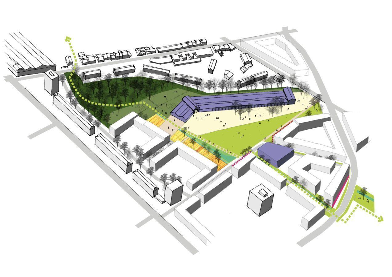 Quartier Gare Saint Jean Belcier - Mutabilis