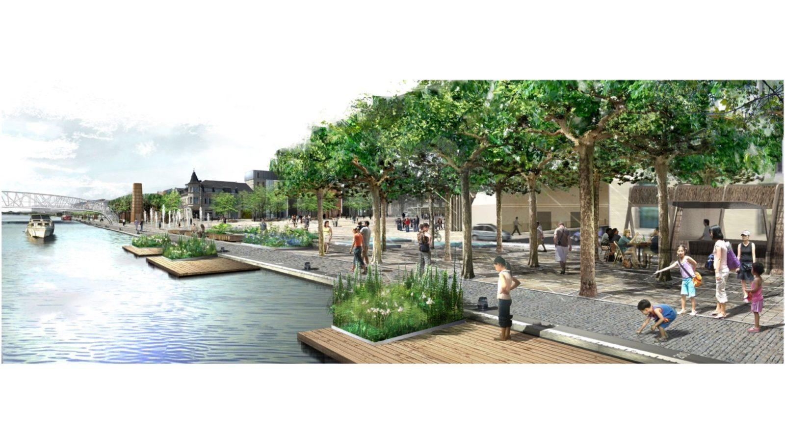 Espaces publics du quai Gayant - Mutabilis