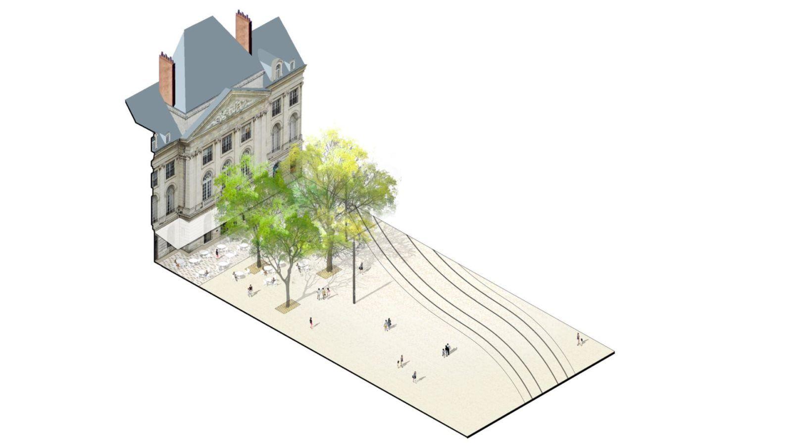 Place du Martroi et ses Rues - Mutabilis